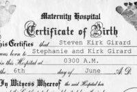001 Birth Certificate Template Word Rare Ideas Fake with regard to Birth Certificate Fake Template