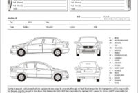 001 Vehicle Condition Report Template Fearsome Ideas Blank inside Car Damage Report Template