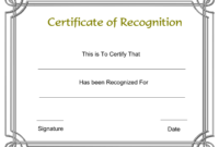 002 Recognition Certificate Template Free Beautiful Ideas Of inside Blank Award Certificate Templates Word