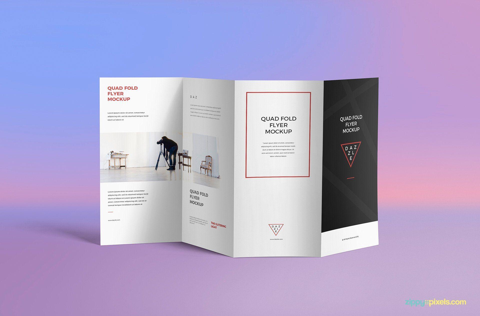 005 Quad Fold Brochure Template Dreaded Ideas Word Free In 4 Fold Brochure Template Word
