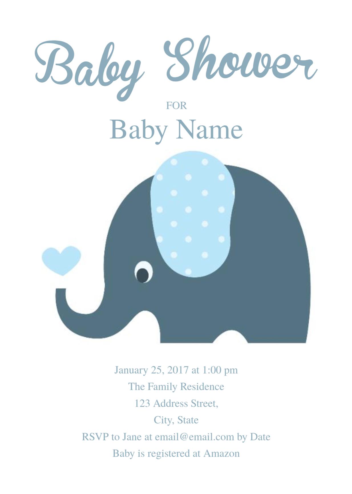 005 Template Ideas Free Baby Shower Invitation Fascinating With Regard To Free Baby Shower Invitation Templates Microsoft Word