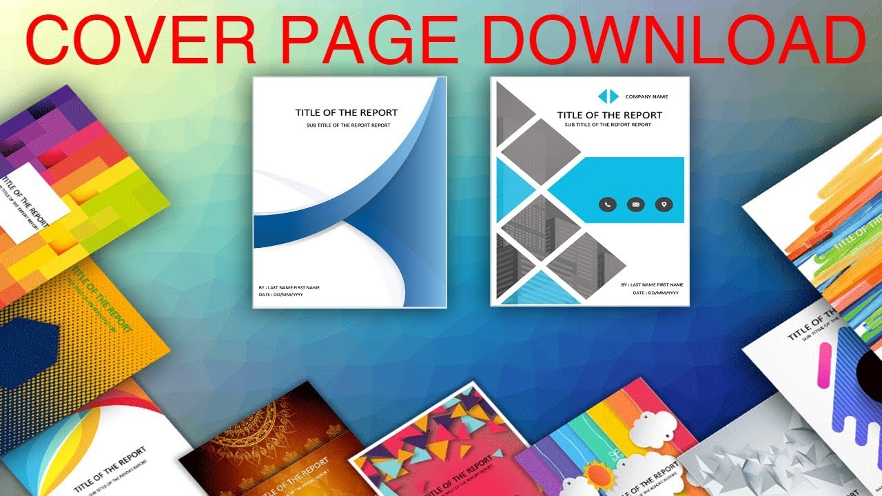 007 Template Ideas Word Cover Pages Exceptional Templates Regarding Microsoft Word Cover Page Templates Download