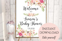 009 Bridal Shower Welcome Sign Template Astounding Ideas inside Free Bridal Shower Banner Template