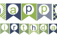 009 Happy Birthday Banner Template Unbelievable Ideas Black intended for Free Printable Happy Birthday Banner Templates