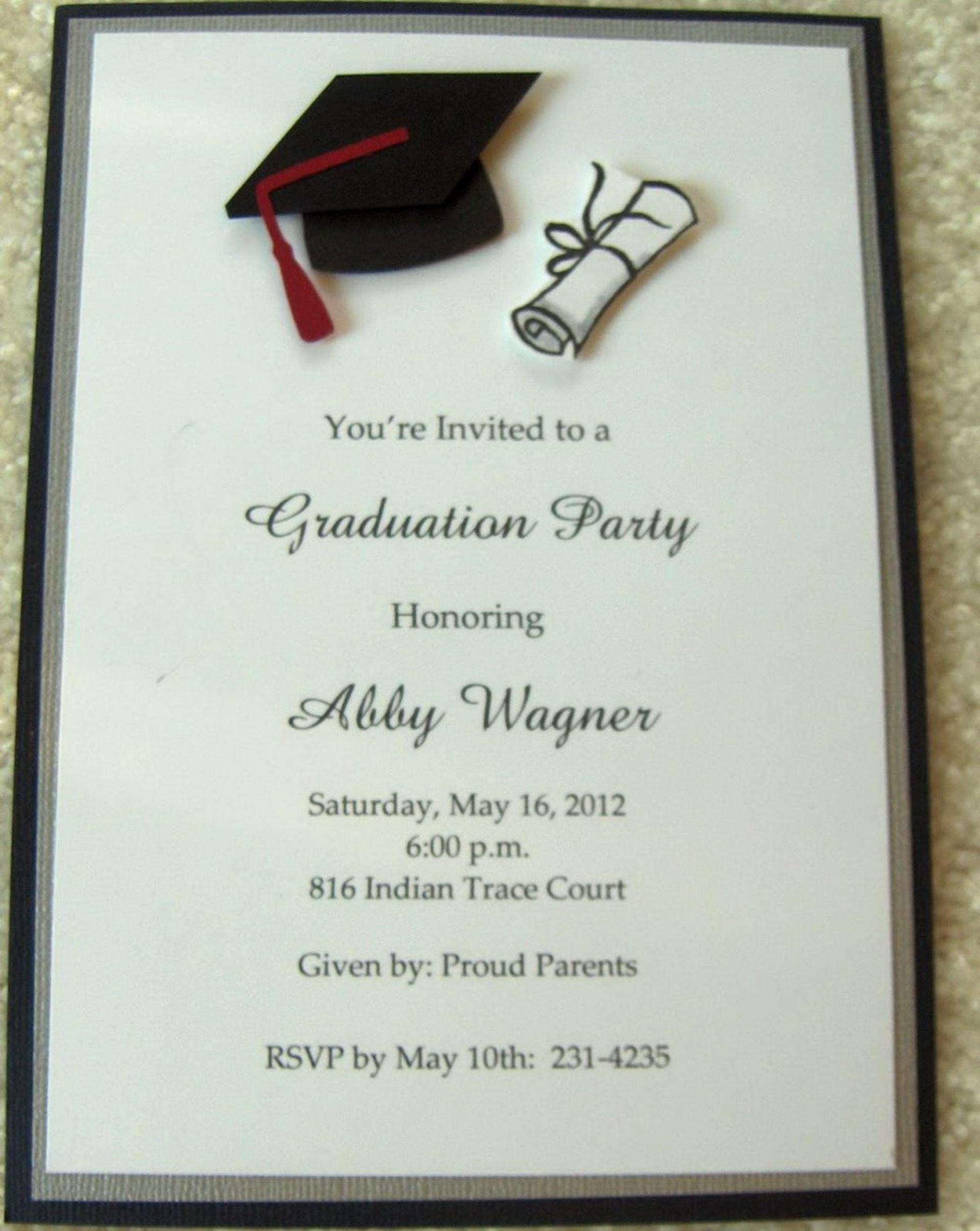 009 Template Ideas Graduation Party Sensational Invitation Pertaining To Graduation Party Invitation Templates Free Word