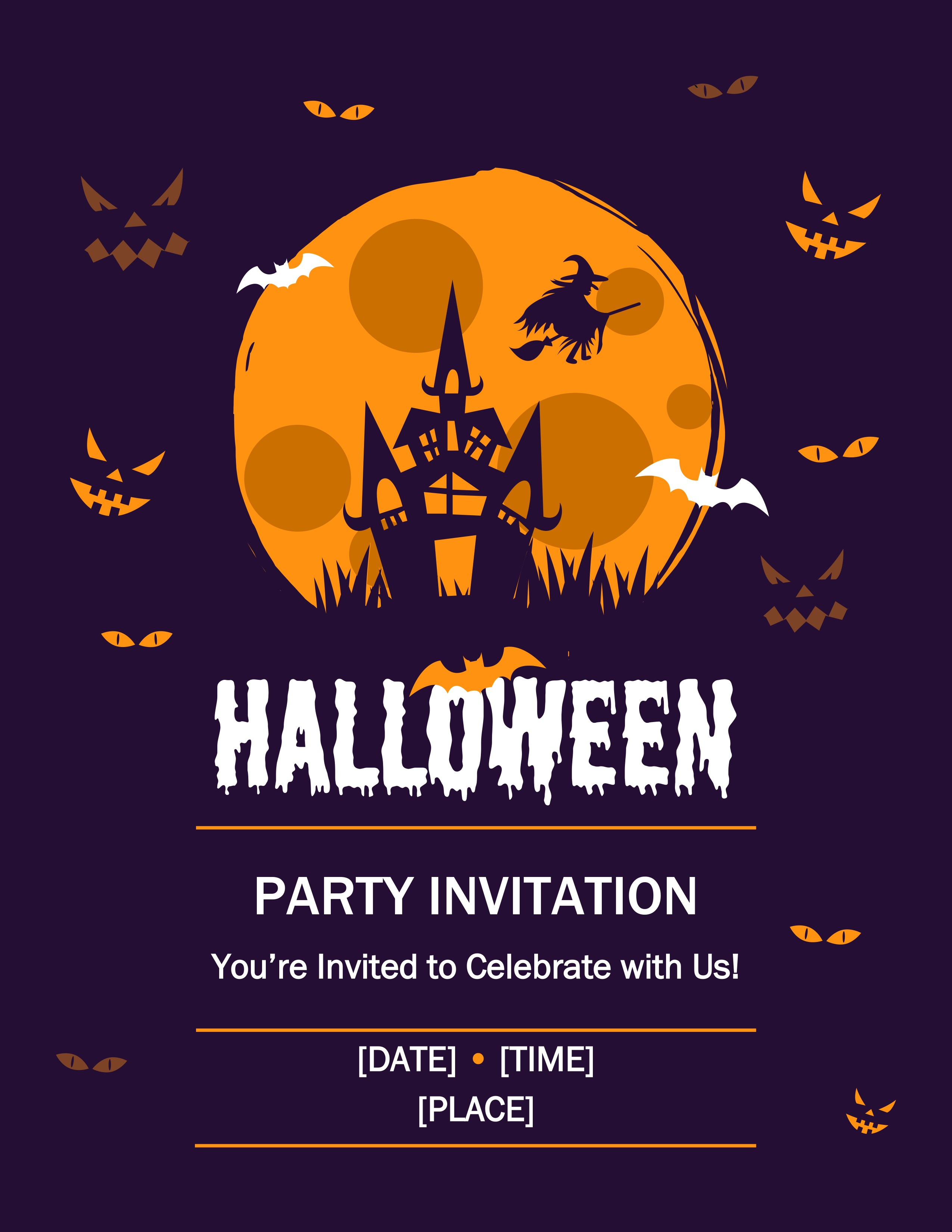 009 Template Ideas Halloween Flyer Free Awesome Templates Pertaining To Free Halloween Templates For Word