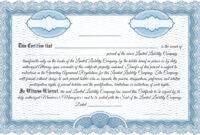 012 Llc Klasickc3A1 Template Ideas Member Staggering regarding Llc Membership Certificate Template Word