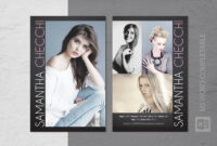 015 Model Comp Card Template Ideas Outstanding Free inside Download Comp Card Template