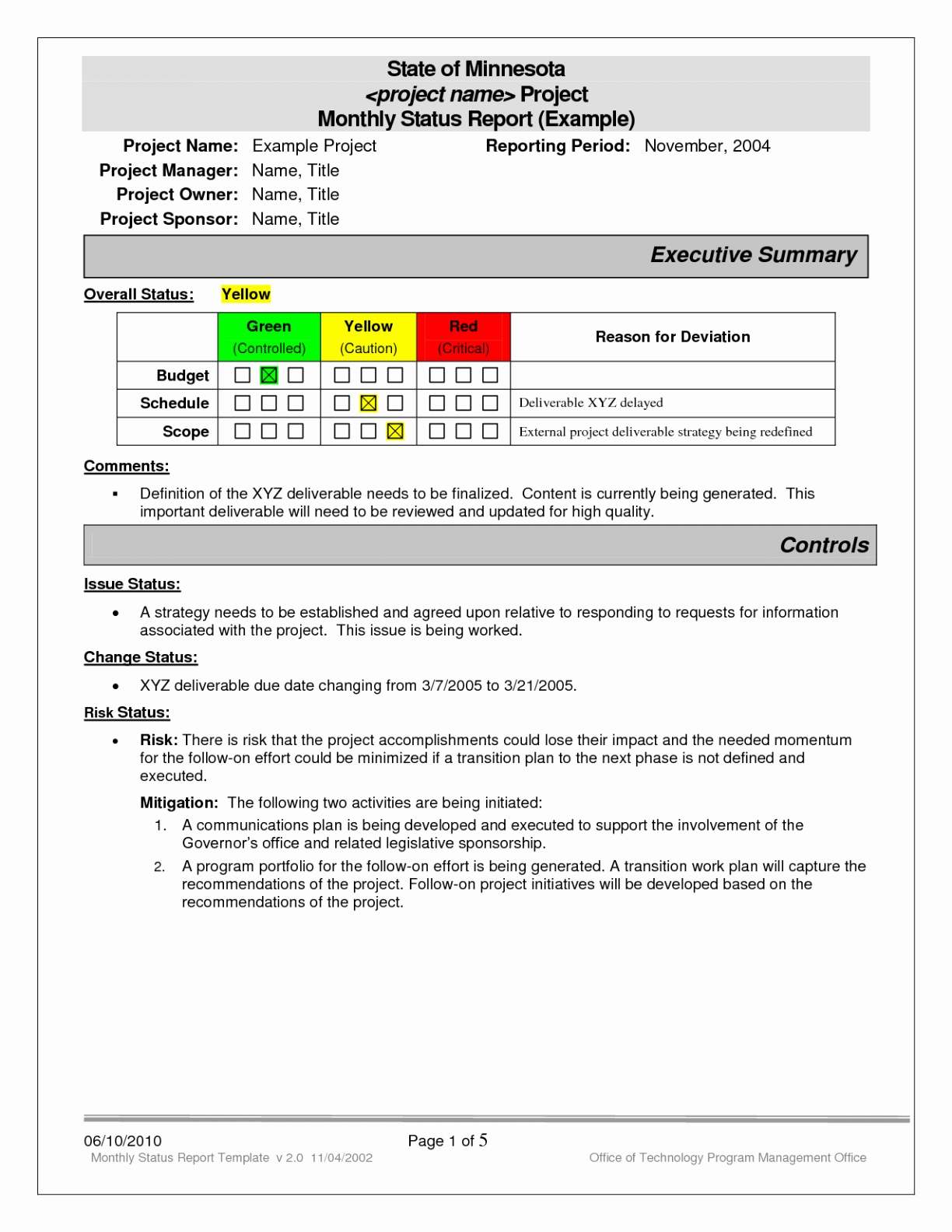 018 Project Status Report Template Excel Software Testing Inside Testing Weekly Status Report Template
