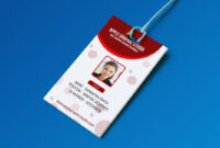 019 Free Id Card Template Ideas Fascinating Photoshop with regard to Id Card Template Word Free