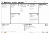 020 Business Plan Lean Model Canvas Template New Generation in Business Model Canvas Template Word