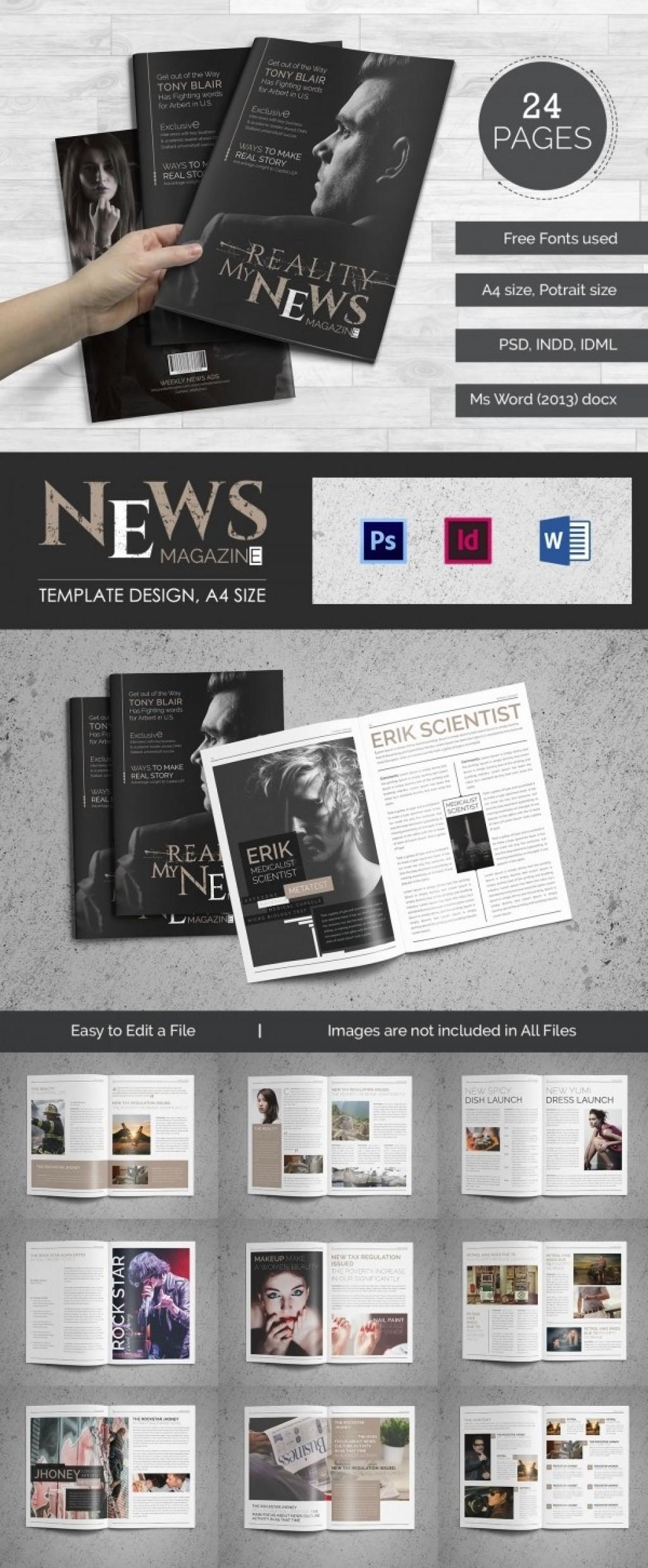 028 Magazine Template For Microsoft Word Wondrous Ideas Free With Regard To Magazine Template For Microsoft Word