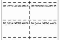 035 Blank Coupon Template Free Printable Exceptional Ideas within Blank Coupon Template Printable