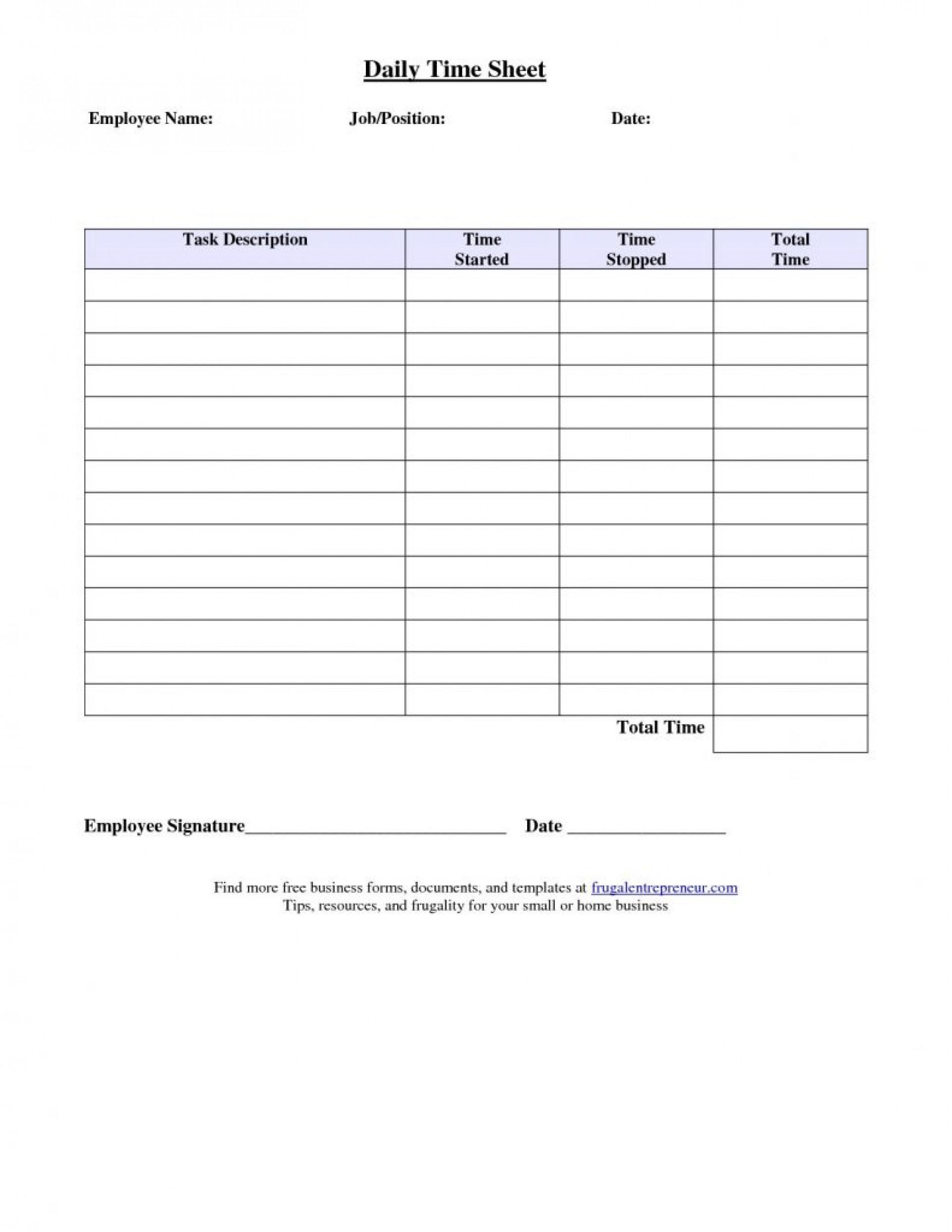 043 Free Weekly Timesheet Template Of Printable Uma Monthly For Weekly Time Card Template Free