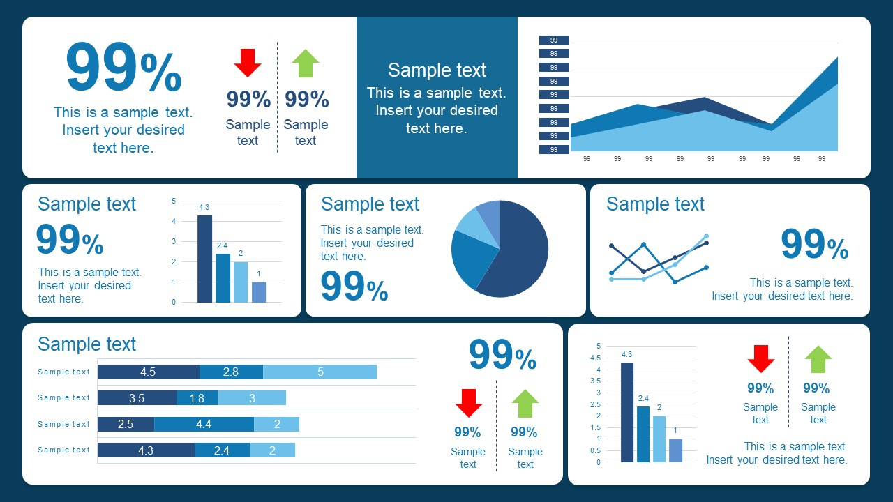 10 Best Dashboard Templates For Powerpoint Presentations For Powerpoint Dashboard Template Free
