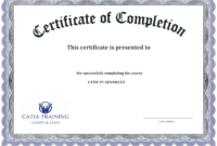 10 Certificate Of Completion Templates Free Download Images throughout Free Training Completion Certificate Templates