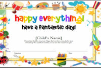 10+ Certificate Template Clipart | Clipartlook in Kids Gift Certificate Template