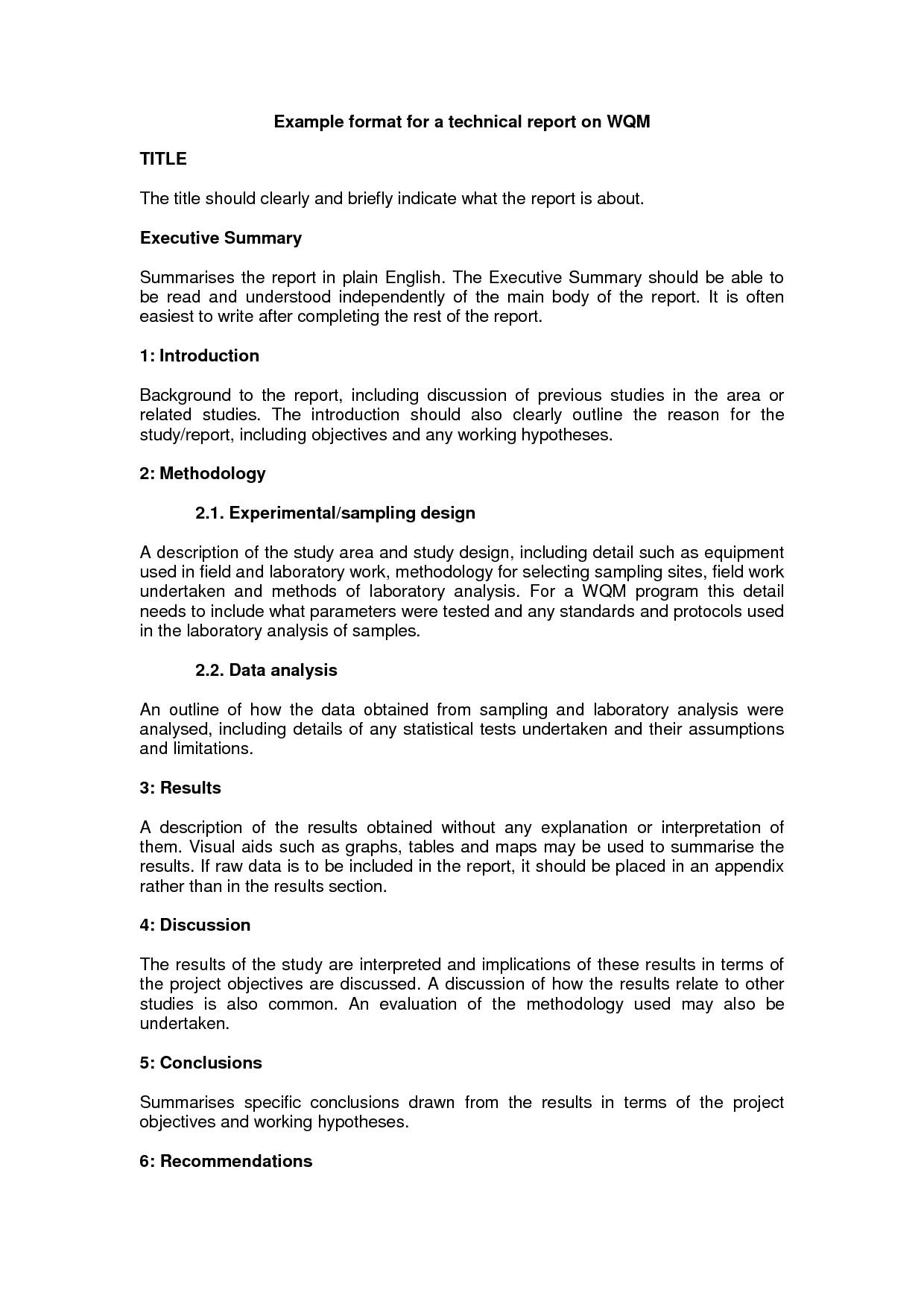 10+ Technical Report Writing Examples - Pdf   Examples Pertaining To How To Write A Work Report Template