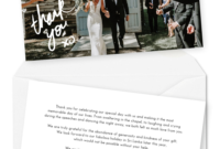 10 Wording Examples For Your Wedding Thank You Cards inside Template For Wedding Thank You Cards