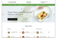 100+ Free Bootstrap Html5 Templates For Responsive Sites pertaining to Blank Food Web Template