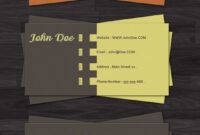 100 Free Business Card Templates – Designrfix with Visiting Card Templates For Photoshop