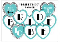 11 Best Photos Of Bride To Be Banner Template – Diy Bridal regarding Free Bridal Shower Banner Template