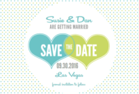 11 Free Save The Date Templates regarding Save The Date Templates Word
