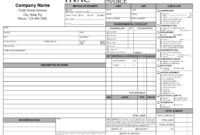 11 Hvac Invoice Template Free Top Invoice Templates Hvac pertaining to Technical Service Report Template
