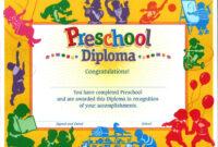 11+ Preschool Certificate Templates – Pdf | Free & Premium In Fun Certificate Templates