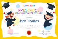 11+ Preschool Certificate Templates – Pdf   Free & Premium throughout Free School Certificate Templates