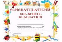 11+ Preschool Certificate Templates – Pdf   Free & Premium with Certificate Templates For School