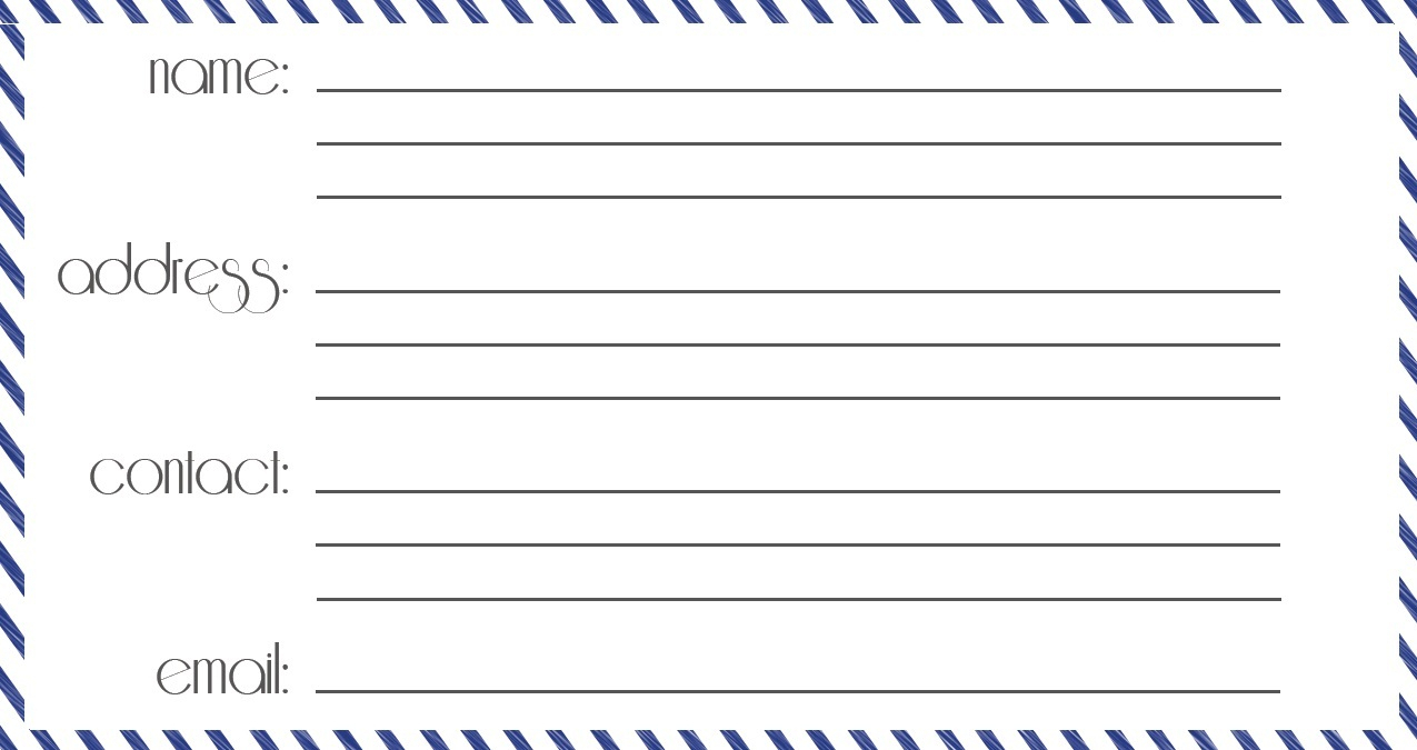 12 Useful Luggage Tag Templates For You   Kittybabylove With Regard To Blank Luggage Tag Template