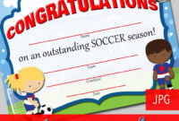 13+ Soccer Award Certificate Examples – Pdf, Psd, Ai inside Soccer Award Certificate Template