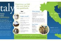 13 Travel Brochure Design Templates Images – Travel Brochure throughout Country Brochure Template