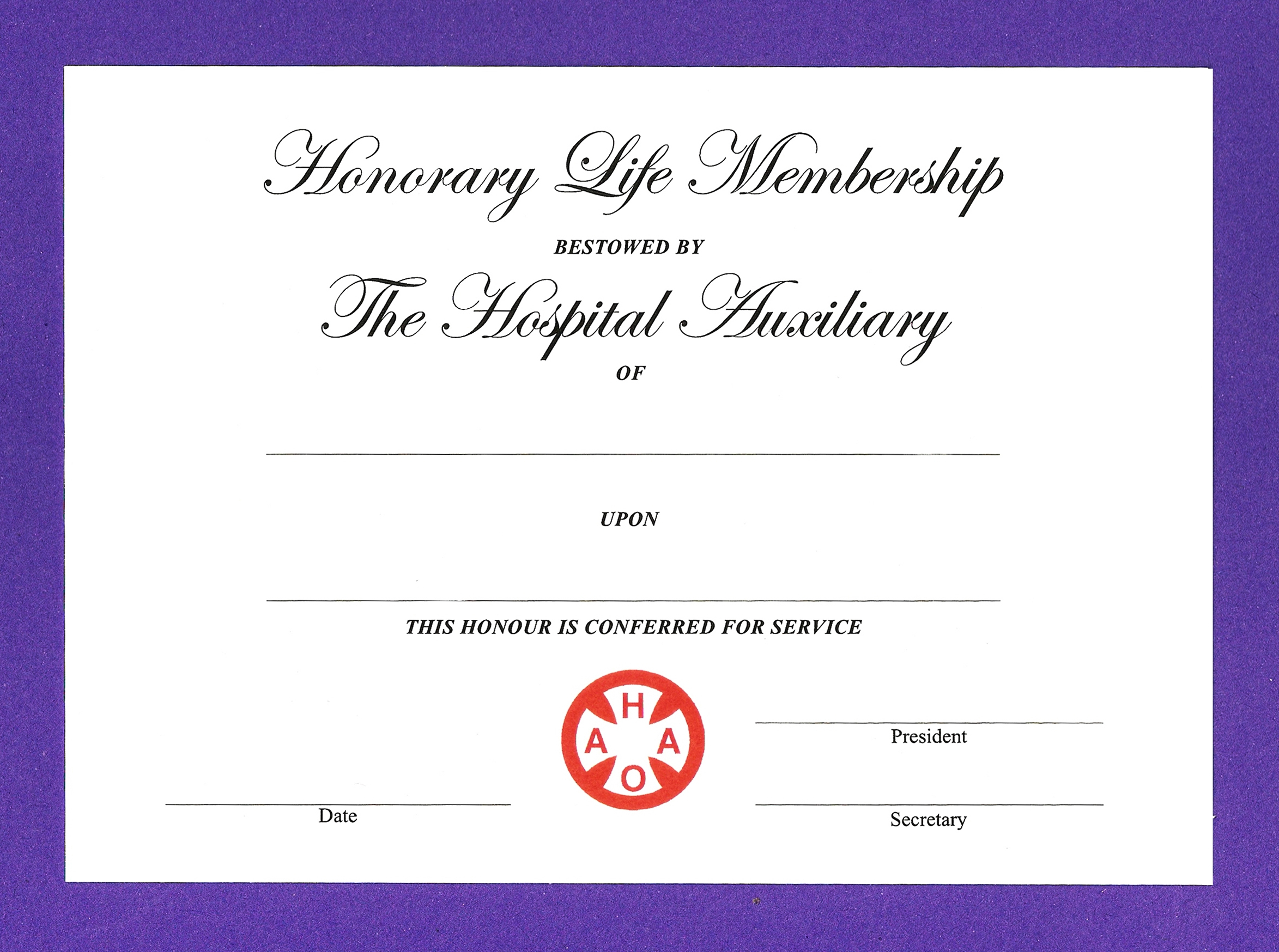 14+ Honorary Life Certificate Templates - Pdf, Docx | Free Inside Life Membership Certificate Templates