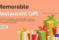 14+ Restaurant Gift Certificates   Free & Premium Templates regarding Homemade Gift Certificate Template