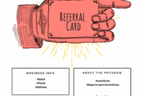 15 Examples Of Referral Card Ideas And Quotes That Work regarding Referral Card Template