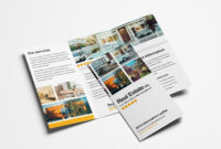 15 Free Tri-Fold Brochure Templates In Psd & Vector – Brandpacks intended for One Sided Brochure Template