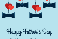 15+ Fun Father's Day Card Templates To Show Your Dad He's #1 Regarding Fathers Day Card Template