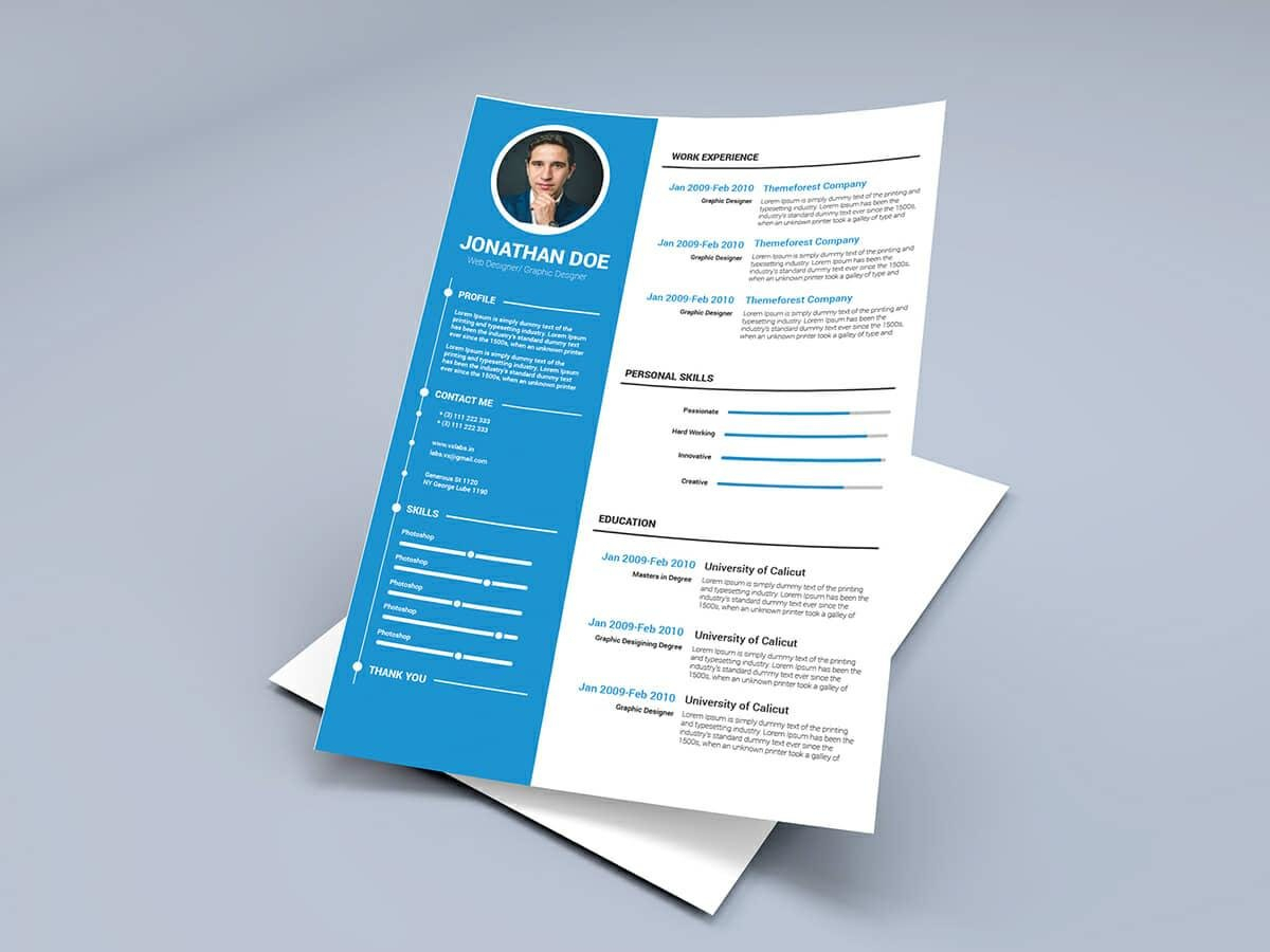 15+ Resume Templates For Word (Free To Download) Intended For Resume Templates Word 2010