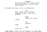 15 Screenplay Examples From Each Genre To Download For Free with Shooting Script Template Word