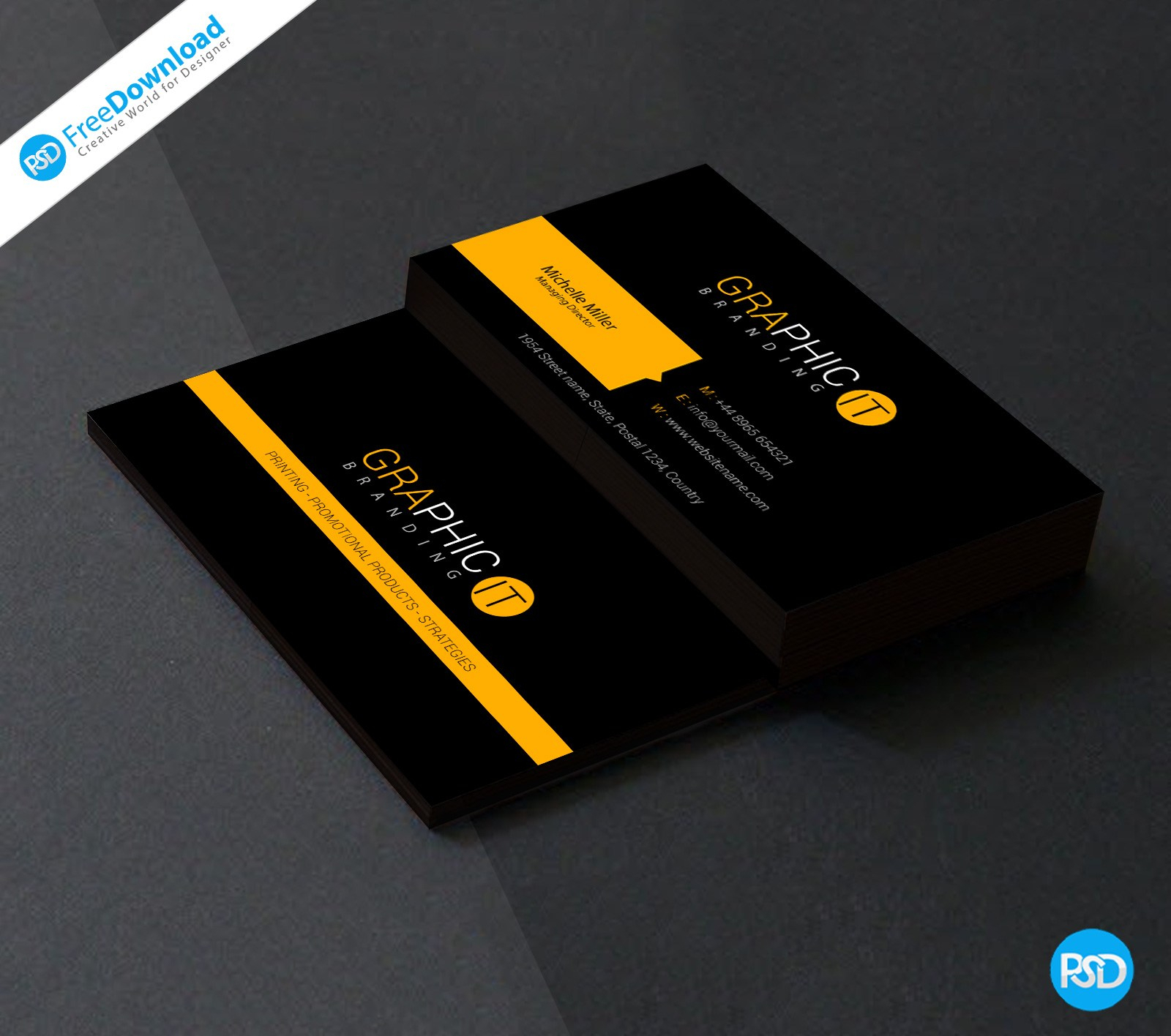 150+ Free Business Card Psd Templates In Visiting Card Templates Psd Free Download