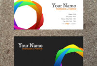 16 Business Card Templates Images – Free Business Card in Microsoft Templates For Business Cards