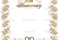 16 Wedding Anniversary Templates Free Images – Anniversary inside Anniversary Certificate Template Free