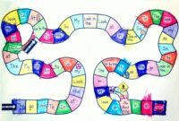 19 Images Of Candyland Path Printable Template | Netpei inside Blank Candyland Template