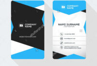 2 Sided Business Card Template Word Fresh 2 Sided Business for 2 Sided Business Card Template Word