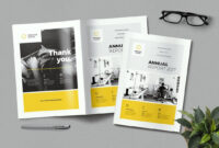 20+ Annual Report Templates (Word & Indesign) 2018 inside Annual Report Template Word