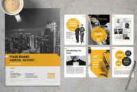 20+ Annual Report Templates (Word & Indesign) 2019 inside Annual Report Template Word