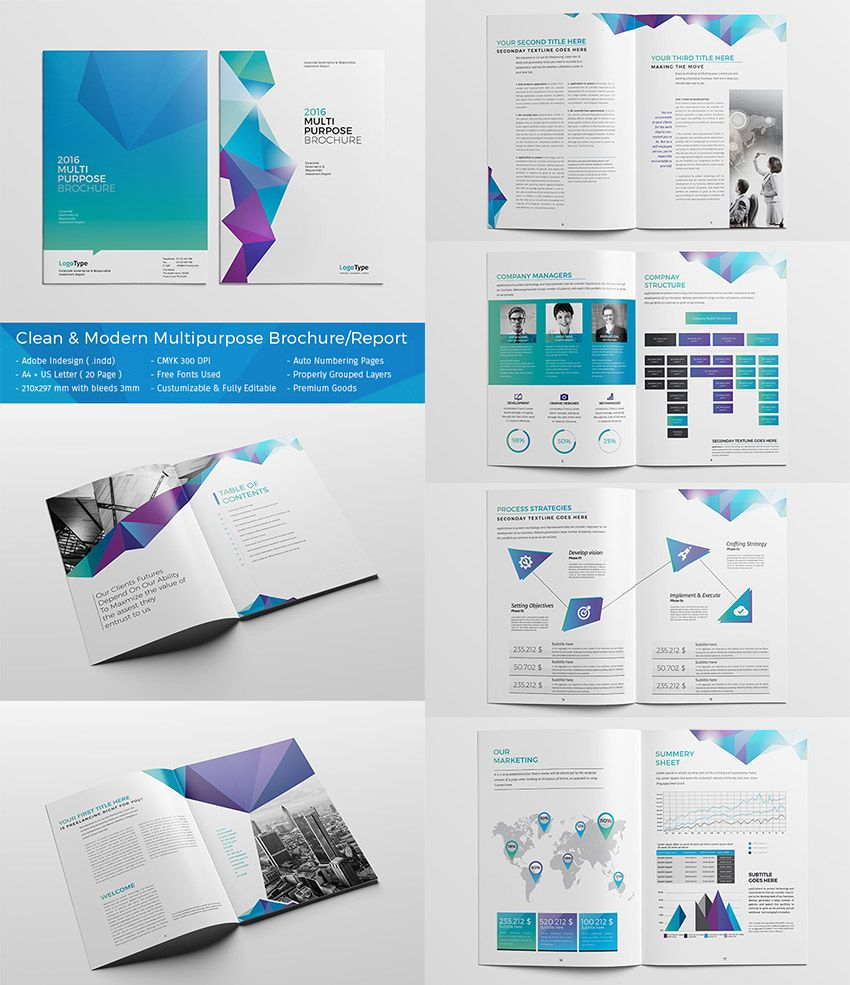 20 Best #indesign Brochure Templates - Creative Business Pertaining To Adobe Indesign Brochure Templates
