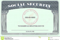 20+ Blank Social Security Card Template inside Blank Social Security Card Template Download